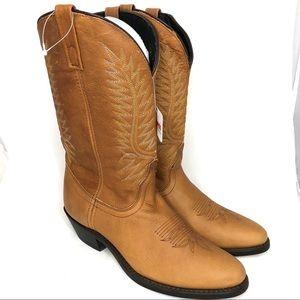 NWT Laredo Abby Walnut western boots size 9
